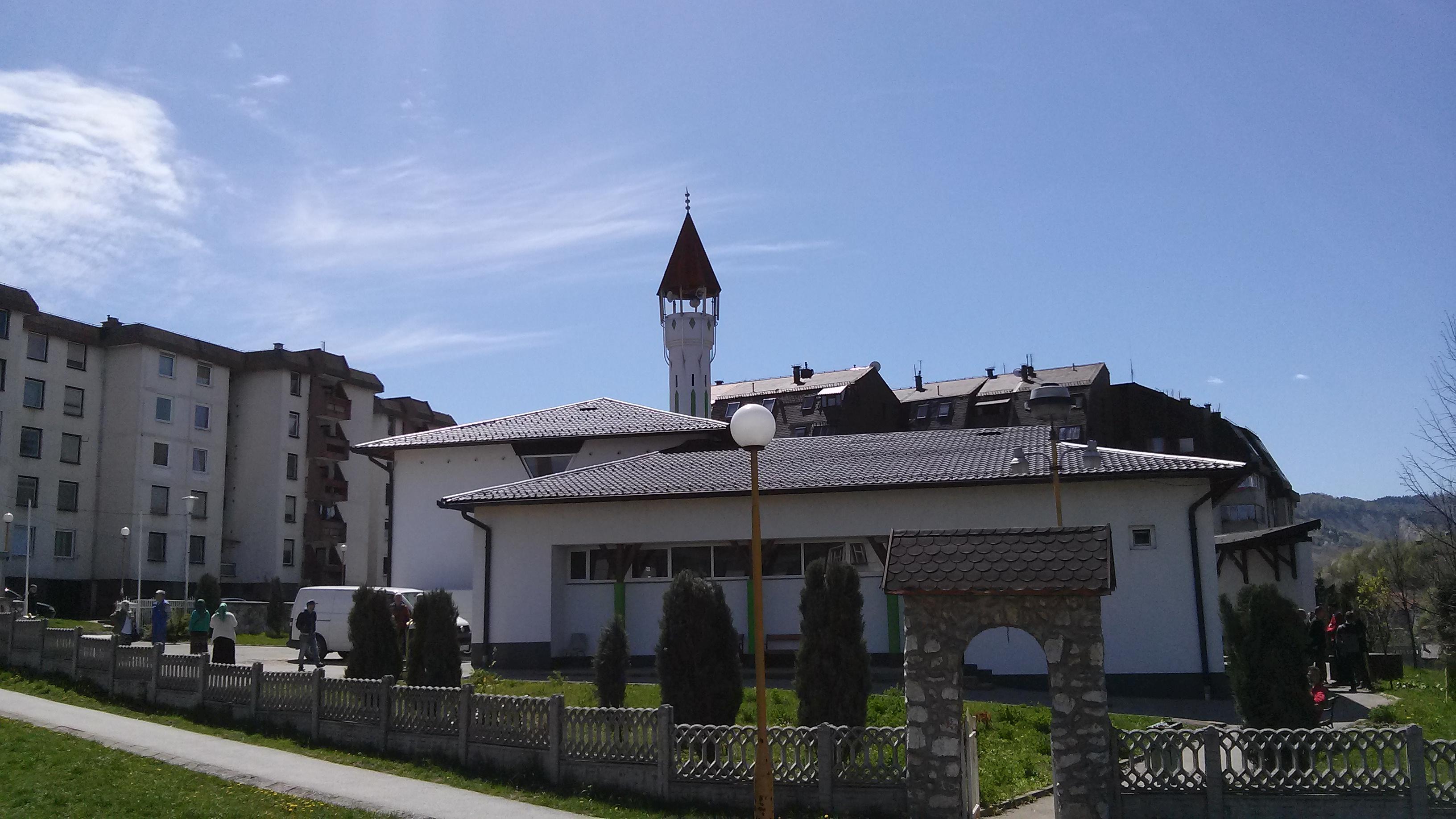 Džamija Banovići Grad