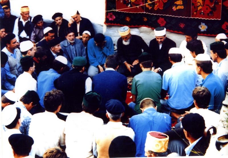 Šejh Mehmed ef. Hafizovi na zikiru na Karićima
