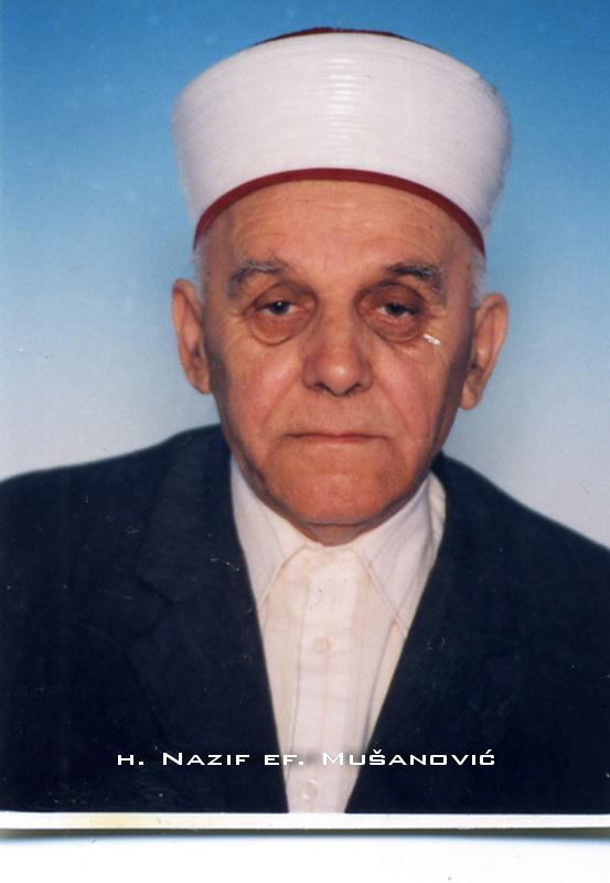 h. Nazif ef. Musanovic