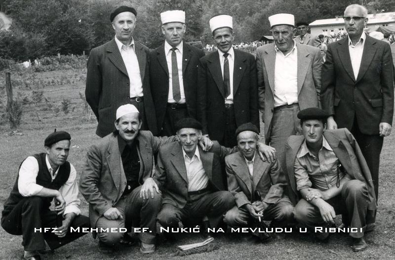 hfz. Mehmed ef. Nukic na mevludu u Ribnici