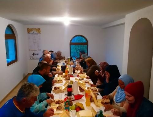 Zajednički iftar u džematu Mrdići