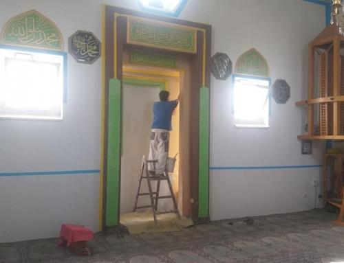 Unutarnji radovi na gradskoj džamiji u Banovićima