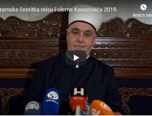 Kurban-bajramska poruka reisu-l-uleme Kavazovića