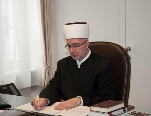 Čestitka muftije Fazlovića povodom Dana Armije Republike Bosne i Hercegovine