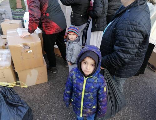Humanitarna organizacija Amel, podijelila pakete pomoći izbjegličkim centrima