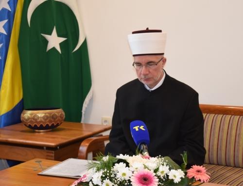 Čestitka muftije tuzlanskog Vahid-ef. Fazlovića na Kurban-bajram 1441./2020. godine