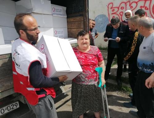 Podjela ramazanskih paketa humanitarne pomoći na području Medžlisa Banovići